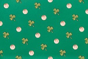 St Patrick seamless pattern