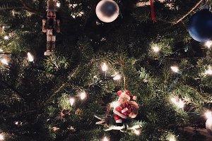 Christmas Ornament Scene
