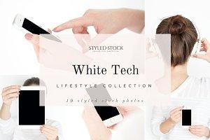 White TechHR Stock Photo Collection