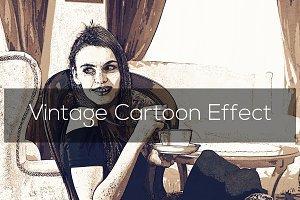 Vintage Cartoon Effect