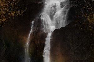 Bjarnarfoss 80 meters high waterfall
