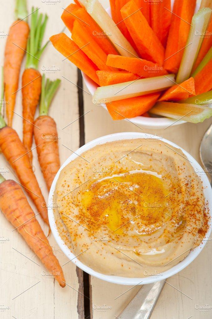 hummus dip and fresh vegetables 029.jpg - Food & Drink