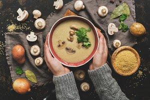 Cream mushroom soup.