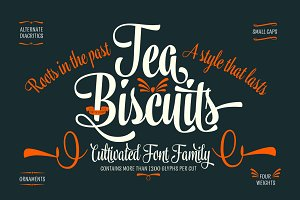 Tea Biscuit -35% intro offer!