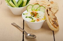 Khyar Bi Laban Arab cucumber goat yogurt salad 002.jpg