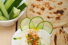 Khyar Bi Laban Arab cucumber goat yogurt salad 003.jpg
