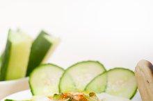 Khyar Bi Laban Arab cucumber goat yogurt salad 006.jpg