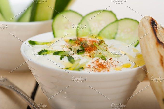 Khyar Bi Laban Arab cucumber goat yogurt salad 009.jpg - Food & Drink