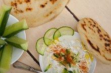 Khyar Bi Laban Arab cucumber goat yogurt salad 011.jpg