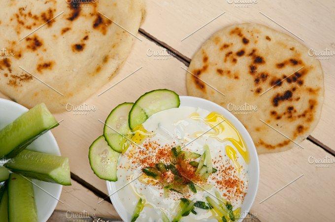 Khyar Bi Laban Arab cucumber goat yogurt salad 014.jpg - Food & Drink