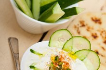 Khyar Bi Laban Arab cucumber goat yogurt salad 021.jpg