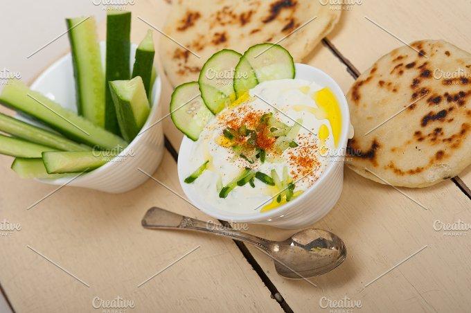 Khyar Bi Laban Arab cucumber goat yogurt salad 020.jpg - Food & Drink