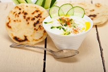 Khyar Bi Laban Arab cucumber goat yogurt salad 024.jpg