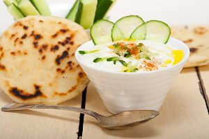 Khyar Bi Laban Arab cucumber goat yogurt salad 025.jpg