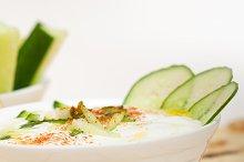 Khyar Bi Laban Arab cucumber goat yogurt salad 032.jpg