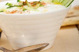 Khyar Bi Laban Arab cucumber goat yogurt salad 032.jpg