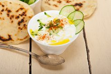 Khyar Bi Laban Arab cucumber goat yogurt salad 031.jpg