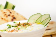 Khyar Bi Laban Arab cucumber goat yogurt salad 033.jpg