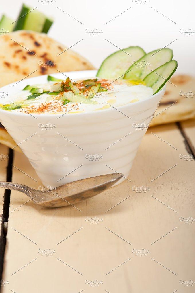 Khyar Bi Laban Arab cucumber goat yogurt salad 033.jpg - Food & Drink