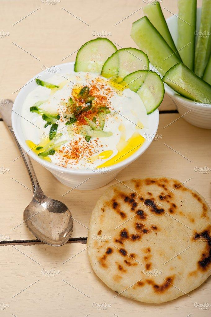 Maast o Khiar Arab cucumber goat yogurt salad 002.jpg - Food & Drink