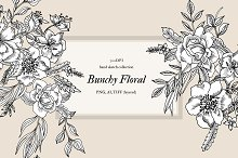 Bunchy Floral by  in Objects