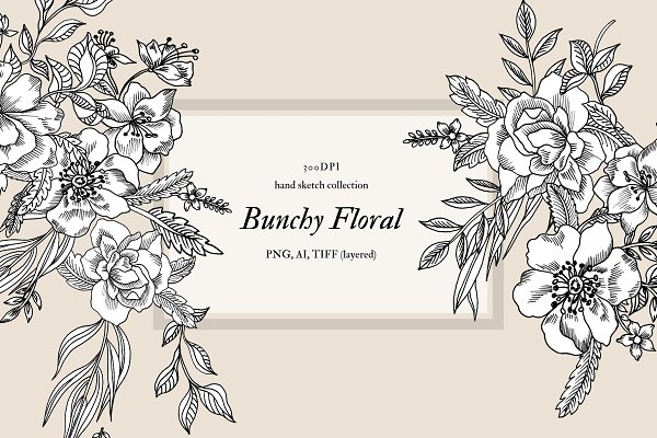 Objects: VictoriaKStudio - Bunchy Floral