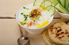 Maast o Khiar Arab cucumber goat yogurt salad 008.jpg