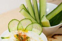 Maast o Khiar Arab cucumber goat yogurt salad 009.jpg