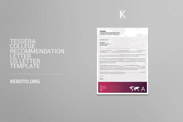 College Recommendation Letter USL