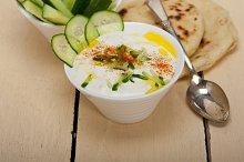 Maast o Khiar Arab cucumber goat yogurt salad 011.jpg