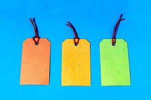Pastel price tags