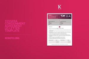 Tessera Consignment Agreement USL