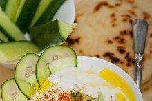 Maast o Khiar Arab cucumber goat yogurt salad 017.jpg