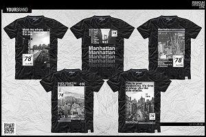 Manhattan Project T-Shirt Design