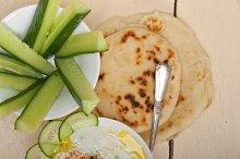 Maast o Khiar Arab cucumber goat yogurt salad 022.jpg