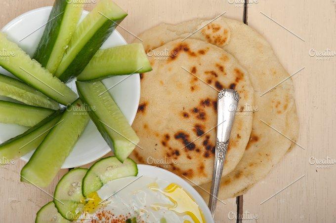 Maast o Khiar Arab cucumber goat yogurt salad 022.jpg - Food & Drink