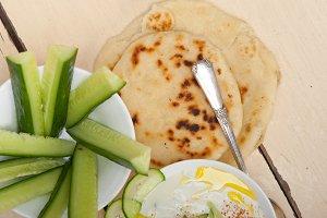 Maast o Khiar Arab cucumber goat yogurt salad 023.jpg