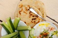 Maast o Khiar Arab cucumber goat yogurt salad 024.jpg