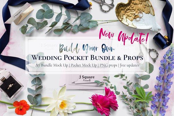 A7 Pocket Bundle Mock Up & Props