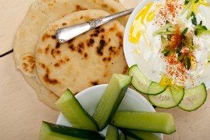 Maast o Khiar Arab cucumber goat yogurt salad 026.jpg