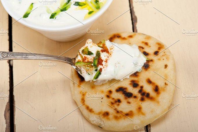 Maast o Khiar Arab cucumber goat yogurt salad 028.jpg - Food & Drink