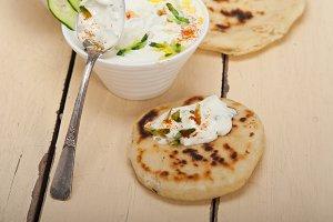 Maast o Khiar Arab cucumber goat yogurt salad 030.jpg
