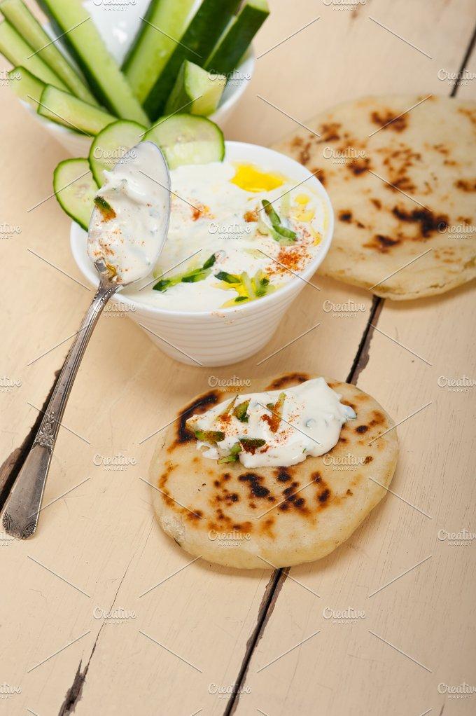 Maast o Khiar Arab cucumber goat yogurt salad 034.jpg - Food & Drink