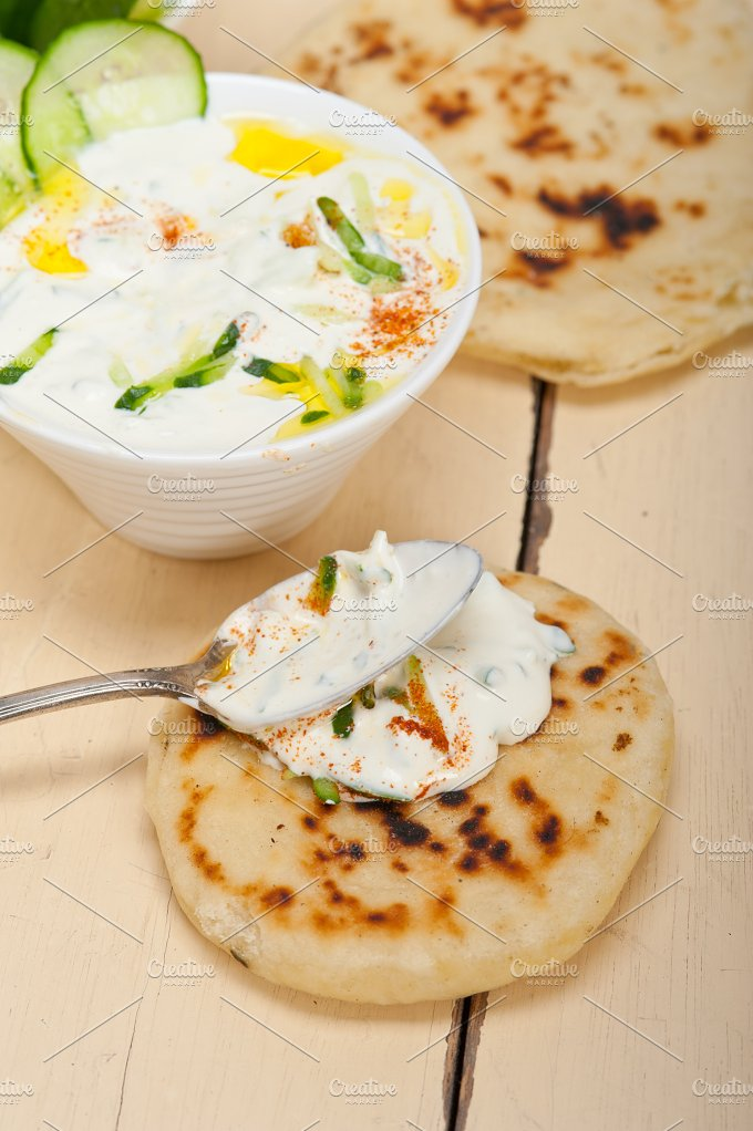 Maast o Khiar Arab cucumber goat yogurt salad 036.jpg - Food & Drink