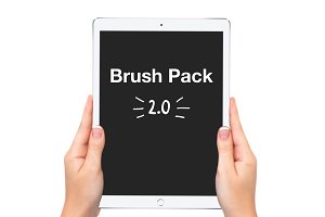 Procreate Lettering Brush Pack 2.0!