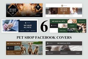 Pet Shop Facebook Covers - SK
