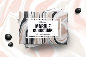 120 Marble Backgrounds