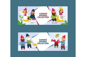 Garden gnome beard dwarf characters