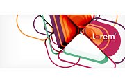 Abstract background multicolored