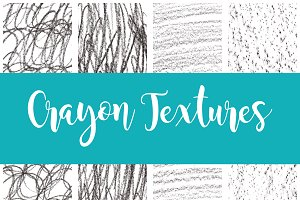 High-Quality Crayon Textures